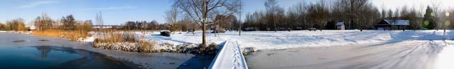 360° Lac de Paisy-Cosdon, le 19 déc 2009